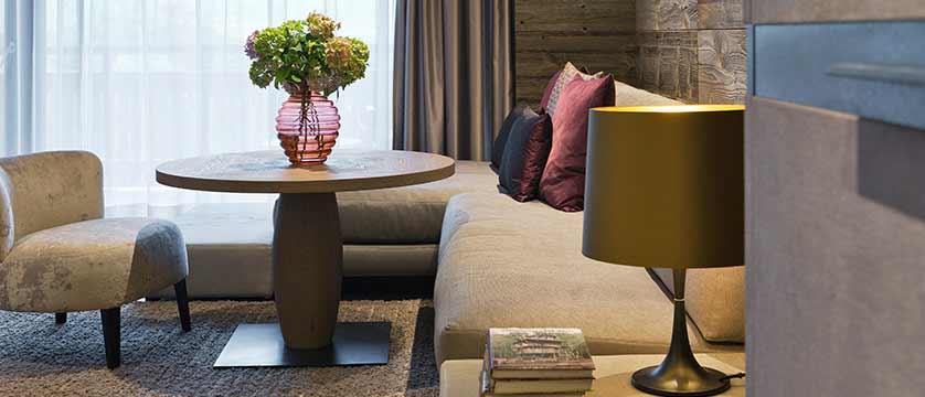 Elisabeth Hotel, Mayrhofen, Austria -  'Premium room' seating area.jpg